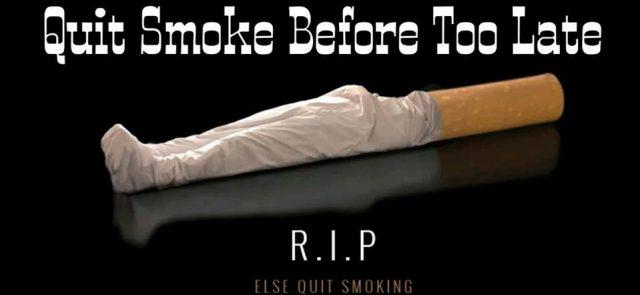 How do you quit smoking?